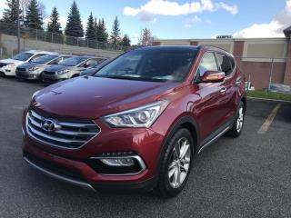 Used 2018 Hyundai Santa Fe Sport Sport Limited AWD *GPS*CUIR *TOIT PANO for sale in Ste-Julie, QC