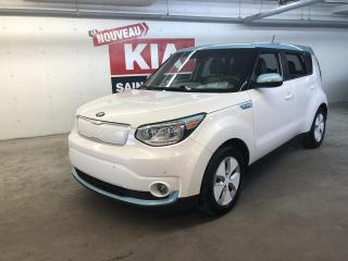 Used 2016 Kia Soul EV*LUXURY*GPS*CUIR*CAMERA*SONAR for sale in Ste-Julie, QC