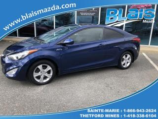 Used 2013 Hyundai Elantra Coupé  GLS for sale in Ste-Marie, QC