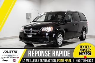 Used 2018 Dodge Grand Caravan SXT, 7 PASSAGER, STOW N'GO! for sale in Joliette, QC