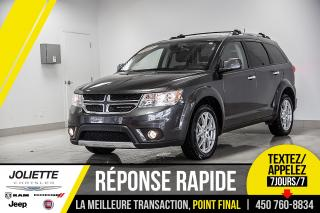 Used 2019 Dodge Journey GT, CUIR, TOIT, BAS KILO!! for sale in Joliette, QC