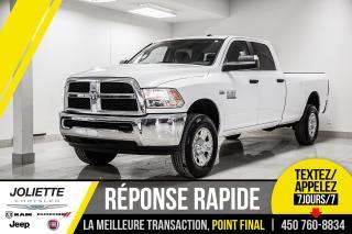 Used 2018 RAM 2500 SLT, BOITE DE 8 PIEDS, RATIO 3.73, MIROIRS DE REMO for sale in Joliette, QC