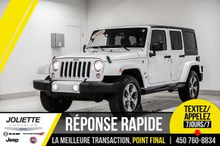 Used 2016 Jeep Wrangler Sahara, BLUETOOTH, NAVIGATION, 2 TOITS!! for sale in Joliette, QC