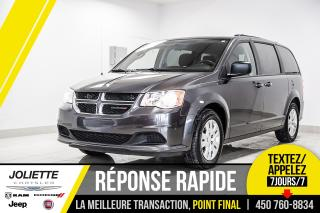 Used 2018 Dodge Grand Caravan SXT, STOW'N GO, COMMANDE AUDIO AU VOLANT!! for sale in Joliette, QC