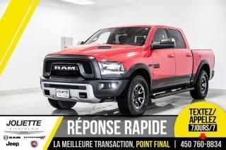 Used 2016 RAM 1500 Rebel, NAVIGATION, DÉMARREUR À DISTANCE, TOIT!! for sale in Joliette, QC