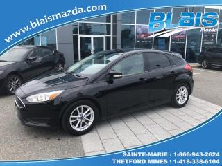 Used 2016 Ford Focus Hayon 5 portes SE for sale in Ste-Marie, QC