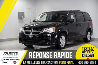 Used 2018 Dodge Grand Caravan SXT, STOW'N GO, ENTRÉE SANS CLÉ, SYSTÈME ANTI-ROUL for sale in Joliette, QC