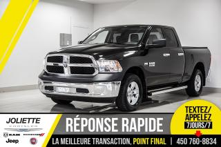Used 2018 RAM 1500 SXT, 4X4, MIRROIRS CHAUFFANTS, FREIN DE REMORQUAGE for sale in Joliette, QC