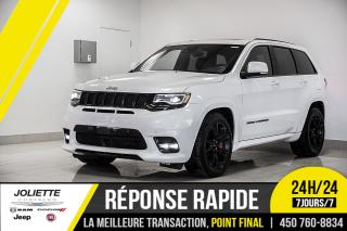 Used 2017 Jeep Grand Cherokee SRT, NAVIGATION, TOIT, DÉMARREUR À DISTANCE!! for sale in Joliette, QC