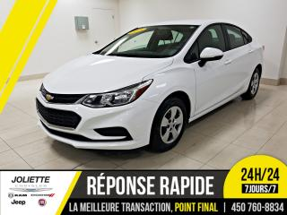 Used 2018 Chevrolet Cruze L, BLUETOOTH for sale in Joliette, QC