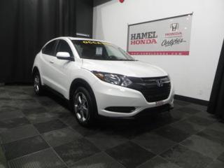 Used 2016 Honda HR-V LX AWD BALANCE DE GARANTIE GLOBALE JUSQU'AU 10/05/2020 OU 80 000KM for sale in St-Eustache, QC