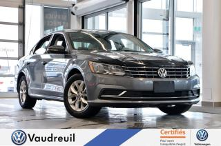 Used 2017 Volkswagen Passat 1.8 TSI Trendline+ * 16 PO * APP-CONNECT for sale in Vaudreuil-Dorion, QC