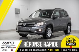 Used 2014 Volkswagen Tiguan Comfortline, CUIR, TOIT, BLUETOOTH!! for sale in Joliette, QC