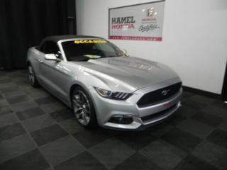 Used 2015 Ford Mustang CONVERTIBLE ECOBOOST WOW SUPERBE CONDITION ET BEAU LOOK ! for sale in St-Eustache, QC