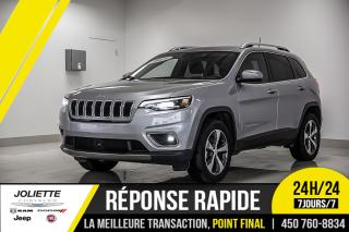 Used 2019 Jeep Cherokee Limited, 4X4, TOIT, CUIR, GPS!!! for sale in Joliette, QC