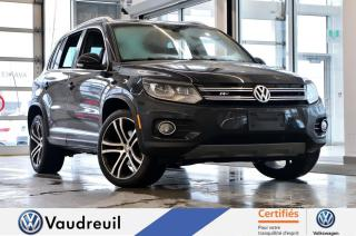 Used 2017 Volkswagen Tiguan Highline * R-LINE * FENDER * NAV * for sale in Vaudreuil-Dorion, QC