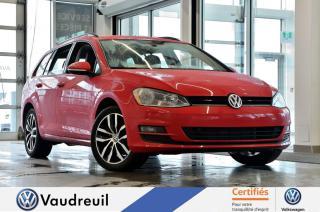 Used 2016 Volkswagen Golf Sportwagen 1.8 TSI Comfortline * 17 POUCES * APP-CO for sale in Vaudreuil-Dorion, QC