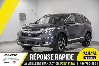 Used 2017 Honda CR-V Touring, TOIT, CUIR, GPS!! for sale in Joliette, QC