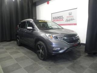 Used 2016 Honda CR-V Touring AWD BIEN EQUIPE for sale in St-Eustache, QC
