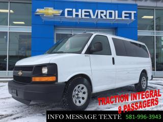 Used 2012 GMC Savana AWD, TRACTION INTEGRAL, 8 PASSAGERS for sale in Ste-Marie, QC