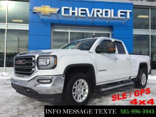 Used 2018 GMC Sierra 1500 SLE 4x4 GPS, z71 for sale in Ste-Marie, QC