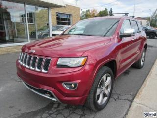 Used 2014 Jeep Grand Cherokee OVERLAND HEMI for sale in Varennes, QC