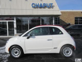 Used 2015 Fiat 500 C Lounge *VENDU* for sale in Varennes, QC
