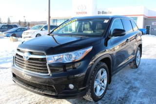 Used 2015 Toyota Highlander LIMITED CUIR TOIT PANORAMIQUE  GPS MAGS for sale in St-Basile-le-Grand, QC