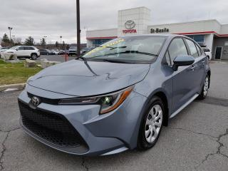 Used 2020 Toyota Corolla LE SIEGES CHAUFFANTS CAMERA RECUL BLUETOOTH for sale in St-Basile-le-Grand, QC