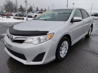 Used 2014 Toyota Camry LE BLUETOOTH GROUPE ELECTRIQUE CLIM CRUISE for sale in St-Basile-le-Grand, QC
