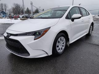 Used 2020 Toyota Corolla L APPLE CARPLAY CLIM CRUISE BLUETOOTH for sale in St-Basile-le-Grand, QC