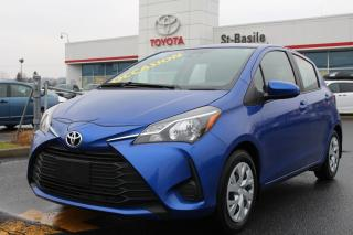 Used 2019 Toyota Yaris Hatchback LE GROUPE ÉLECTRIQUE BLUETOOTH CLIM CRUISE for sale in St-Basile-le-Grand, QC