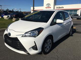 Used 2019 Toyota Yaris Hatchback LE BLUETOOTH SIEGES CHAUFFANTS CAMERA RECUL for sale in St-Basile-le-Grand, QC