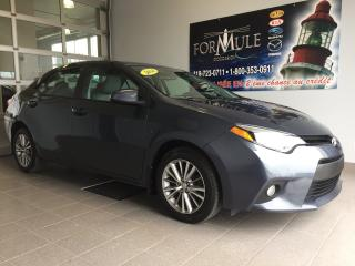 Used 2014 Toyota Corolla LE for sale in Rimouski, QC