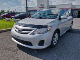 Used 2012 Toyota Corolla CE AMELIORE BLUETOOTH for sale in St-Basile-le-Grand, QC