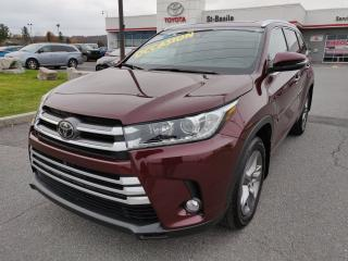 Used 2017 Toyota Highlander LIMITED MAGS CUIR TOIT GPS SIEGES CHAUFFANTS for sale in St-Basile-le-Grand, QC