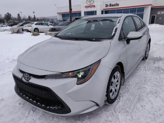 Used 2020 Toyota Corolla LE APPLE CARPLAY BLUETOOTH CLIM CRUISE ANGLE for sale in St-Basile-le-Grand, QC