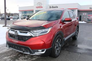 Used 2017 Honda CR-V TOURING MAGS CUIR TOIT SIEGES CHAUFFANTS GPS for sale in St-Basile-le-Grand, QC