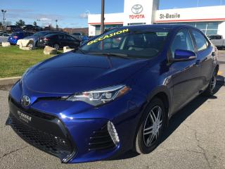 Used 2017 Toyota Corolla SE CUIR SIEGES CHAUFFANTS CAMERA RECUL for sale in St-Basile-le-Grand, QC