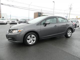 Used 2013 Honda Civic LX AUTOMATIQUE AIR CLIM!! for sale in St-Georges, QC