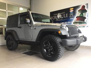 Used 2016 Jeep Wrangler SPORT for sale in Rimouski, QC