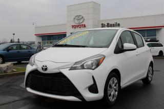 Used 2019 Toyota Yaris Hatchback LE GROUPE ÉLECTRIQUE CAMÉRA DE RECUL for sale in St-Basile-le-Grand, QC