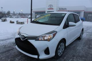 Used 2016 Toyota Yaris LE BLUETOOTH CLIM CRUISE for sale in St-Basile-le-Grand, QC