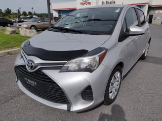 Used 2015 Toyota Yaris LE BLUETOOTH AIR CLIMATISE GR. ELECTRIQUE for sale in St-Basile-le-Grand, QC