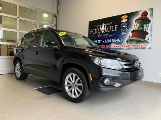 Used 2017 Volkswagen Tiguan Wolfsburg Edition for sale in Rimouski, QC