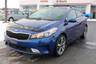 Used 2017 Kia Forte EX MAGS TOIT SIEGES CHAUFFANTS CAMERA RECUL for sale in St-Basile-le-Grand, QC
