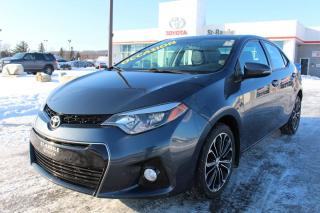 Used 2016 Toyota Corolla SE+ MAGS TOIT CUIR SIEGES CHAUFFANTS CAMERA R for sale in St-Basile-le-Grand, QC
