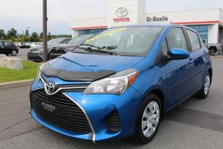Used 2016 Toyota Yaris LE BLUETOOTH AIR CLIMATISE GR. ELECTRIQUE for sale in St-Basile-le-Grand, QC