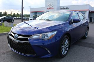 Used 2016 Toyota Camry Hybride SE MAGS CUIR GR ELECTRIQUE BLUETOOTH for sale in St-Basile-le-Grand, QC