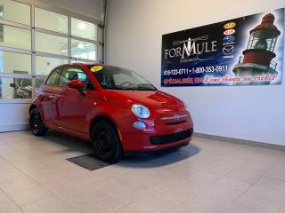 Used 2015 Fiat 500 Pop for sale in Rimouski, QC